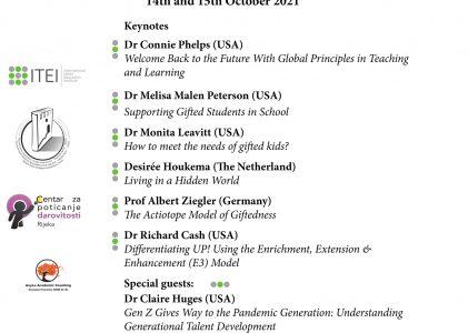 VI. međunarodna znanstvena konferencija Talent Education 2021