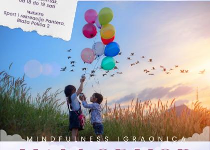 Prijava na mindfulness igraonice Mali odmor